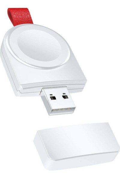 Case 4U Apple Watch Seri 4-3-2-1 Portatif Taşınabilir Kablosuz Manyetik Şarj Cihazı