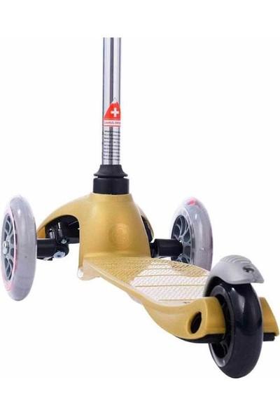 Micro Scooter Mini Altın Rengi MM0178