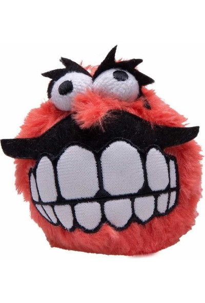 Rogz Köpek Oyuncak Peluş Kırmızı Medium 6,5 Cm