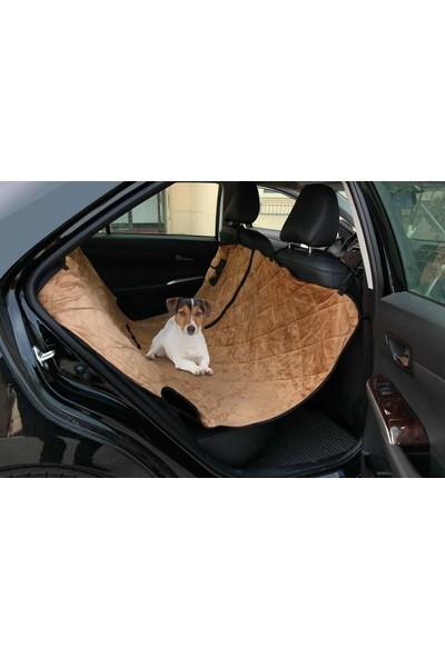 M-Pets Köpek Araba Koltuk Örtüsü Kahve 140*142 Cm