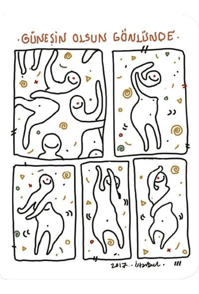 Chumac Art Collection Hatice Gül 18 Çizgisiz Defter