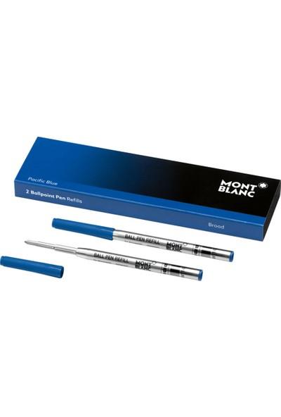Montblanc Tükenmez Kalem Yedeği Mavi Broad 118838
