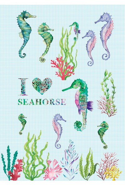 Deffter Lovely Spr Seahorse 64713-2
