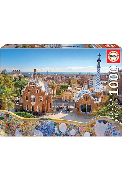Educa Puzzle 1000 Parça Barcelona View From Park Güell 17966