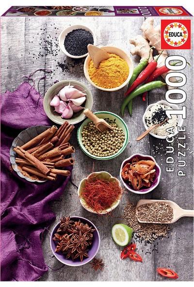Educa Puzzle 1000 Parça Assorted Spices 17974