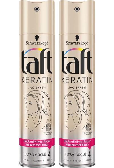 Taft Keratin Sprey 250 ml x 2 Adet