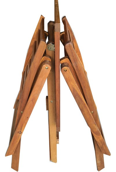 Hepsi Home 3'lü Bistro Set Balkon Alaçatı Bahçe Mobilya Takımı Masif Akasya Ağacı 2 Sandalye 1 Masa