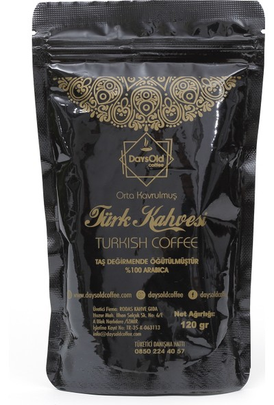 Daysold Coffee Türk Kahvesi 120 gr