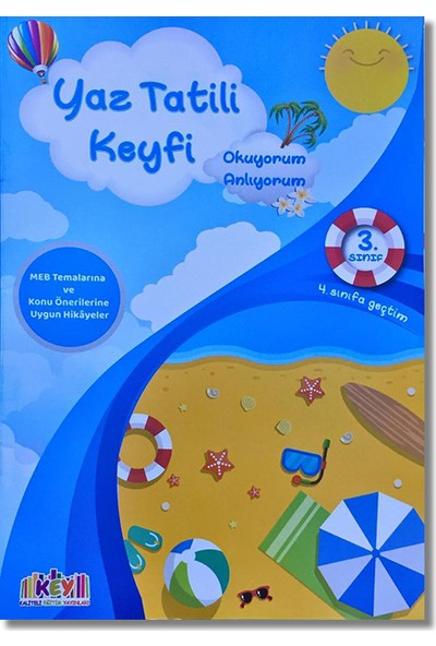 Key 3. Sınıf Yaz Tatili Keyfi + Fasikül Soru Bankası (4. Sınıfa Geçtim)