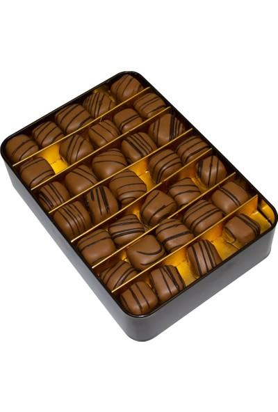Melodi Çikolata Çikolatalı Duble Fıstıklı Lokum