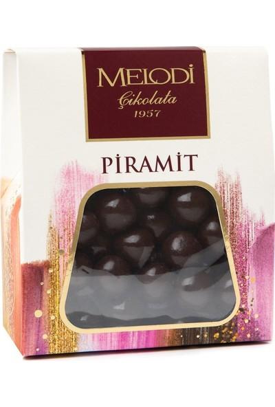Melodi Çikolata Bitter Çikolatalı Fındık Draje - 250gr