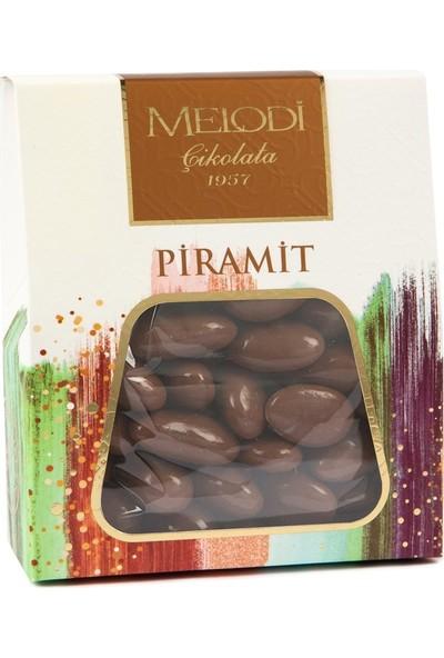 Melodi Çikolata Sütlü Çikolatalı Badem Draje - 250gr
