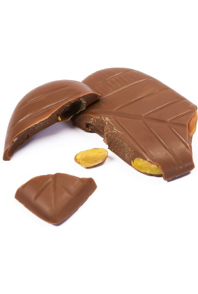 Melodi Çikolata Yaldızlı Kalp Çikolata