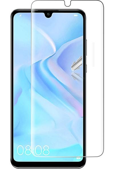 Case 4U Huawei P30 Lite Nano Cam Ekran Koruyucu Şeffaf