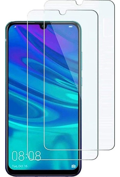 Case 4U Honor 8A Cam Ekran Koruyucu Blue Nano Cam Şeffaf