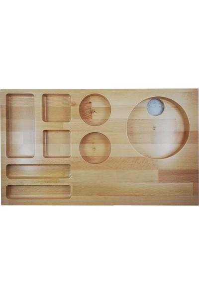 Woodlife İkram Tepsi̇si̇ 50 x 30 x 3 cm