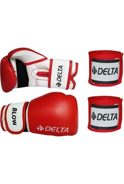 Delta Blow Dura-Strong Boks Eldiveni + Boks El Bandajı Seti