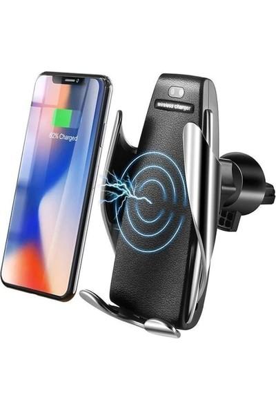 Coverzone Smart Sensör S5 Araç İçi Sensörlü Wireless Şarj Telefon Tutucu
