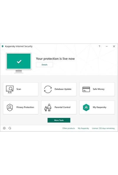Kaspersky Internet Security 1 Kullanıcı 1 Yıl Türkçe Virüs Programı