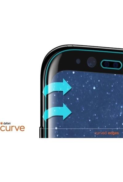Dafoni Huawei P30 Curve Tempered Glass Premium Full Siyah Cam Ekran Koruyucu