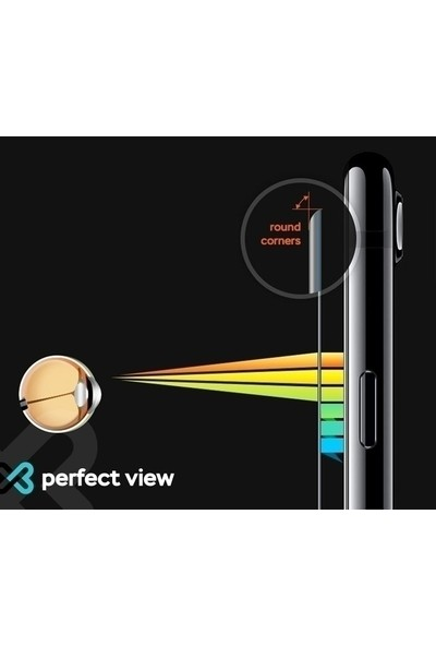 Eiroo Xiaomi Mi 8 Lite Tempered Glass Cam Ekran Koruyucu