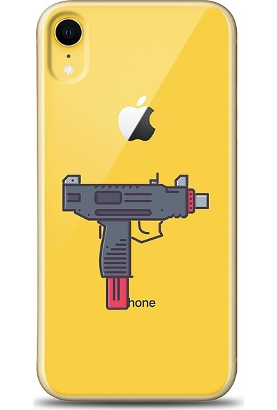 Eiroo iPhone Xr Uzi Baskılı Tasarım Kılıf