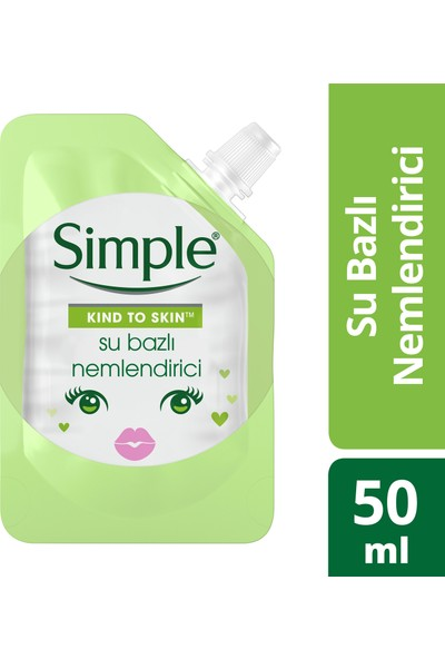 Simple Mini Su Bazlı Nemlendirici 50 ml