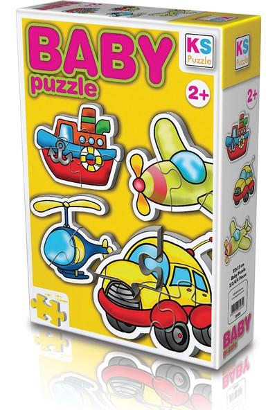 KS Games Baby Puzzle Okul Öncesibaby Puzzle Ulaşım