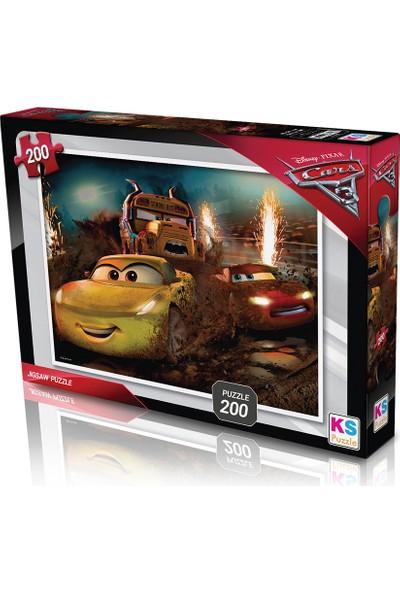 KS Games Cars Puzzle 200