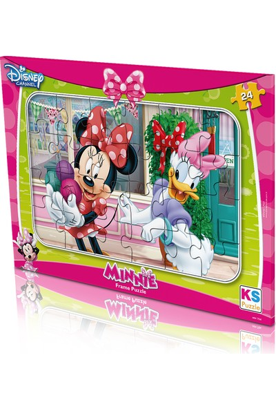 KS Games Minnie Mouse Frame Puzzle 24