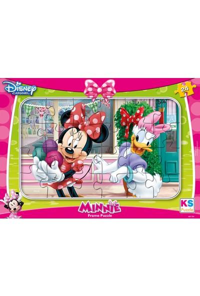 KS Games Minnie Mouse Frame Puzzle 24