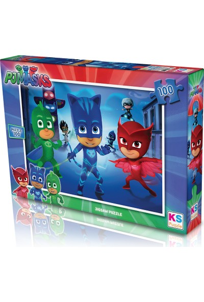 KS Games Pjmaskspuzzle 100