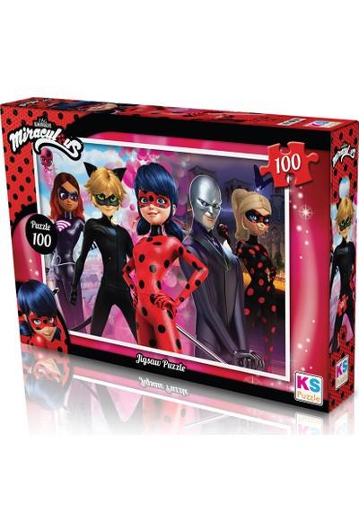 KS Games Lady Bug Puzzle 100
