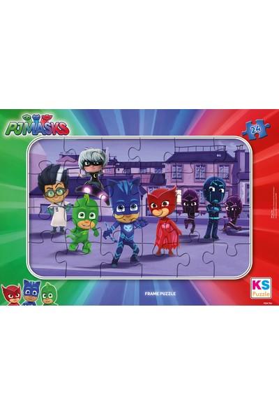 KS Games Pjmasksframe Puzzle 24