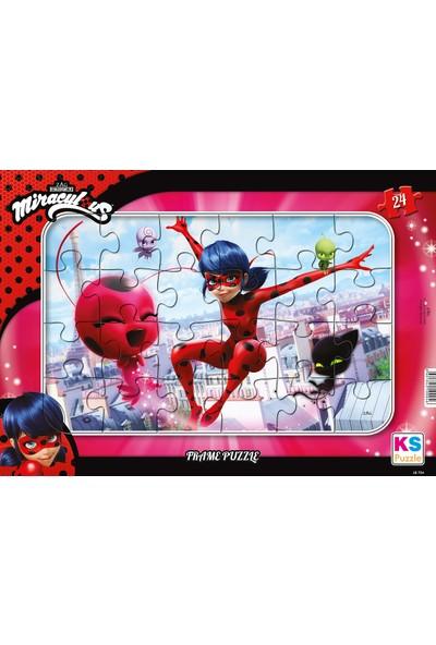 KS Games Lady Bug Frame Puzzle 24