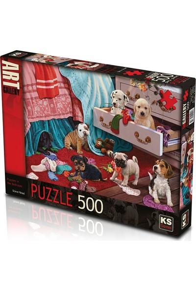 KS Games Puppies İn The Bedroom