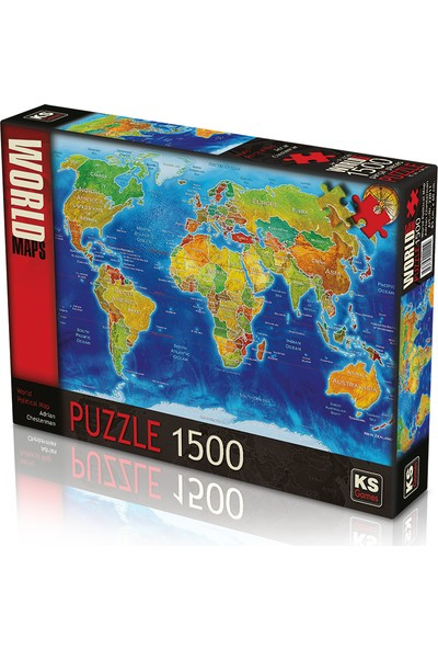 KS Games World Political Map