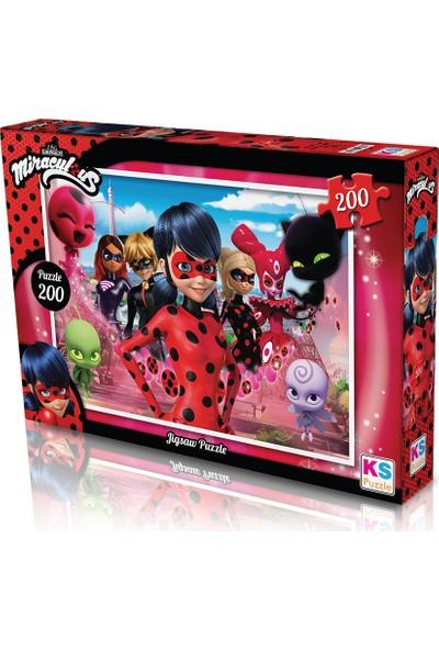 KS Games Lady Bug Puzzle 200