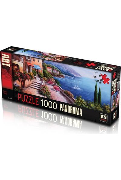 Ks Games Break Time - 1000 Parça Panoramik Puzzle