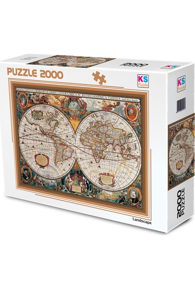 KS Games 17Th Centruy World Map