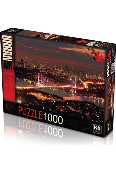 KS Games Boğaziçi'nde Işıkların Dansı Istanbul 1000 Parça Puzzle