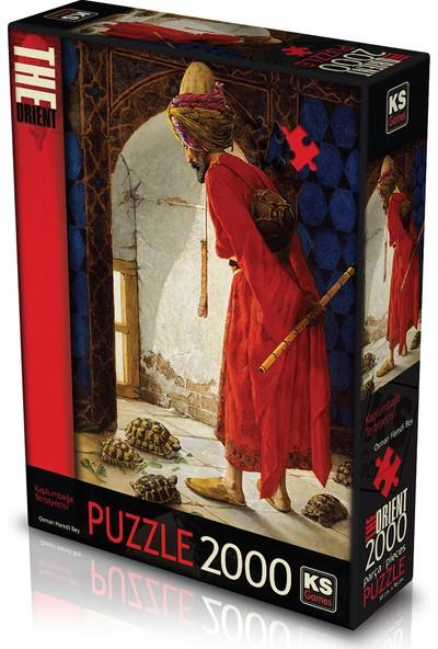 KS Games 2000 Parça Puzzle Kaplumbağa Terbiyecisi