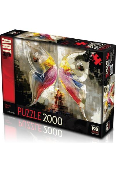 KS Games Kelebek Etkisi 2000 Parça Puzzle