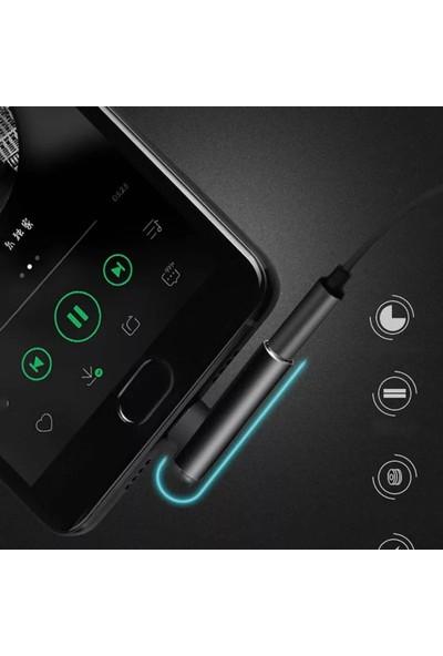 Hdr Black Type-C Kulaklık Çevirici Dönüştürücü Adaptör