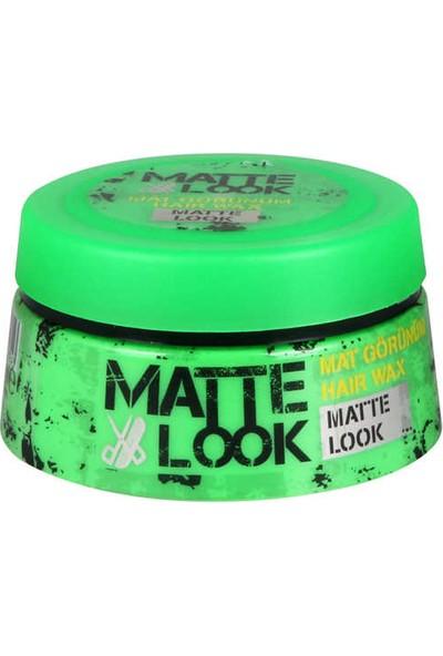 Matte Look Mat Görünüm Wax 100 ML