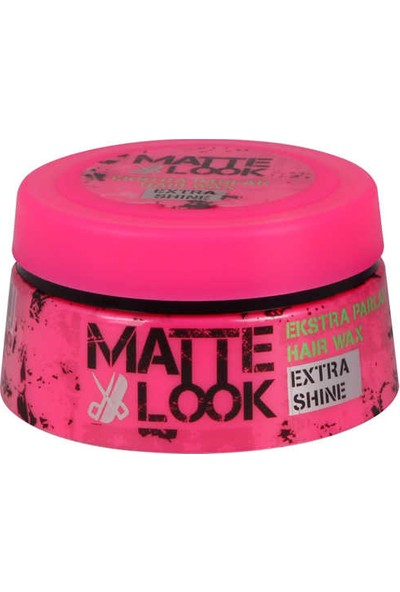 Matte Look Ekstra Parlak Wax 100 ML