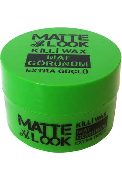 Matte Look Mat Görünüm Killi Wax 50 ML