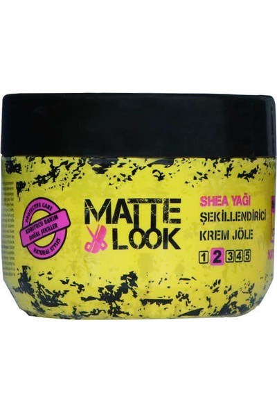 Matte Look Shea Yağı Jöle 300 ML