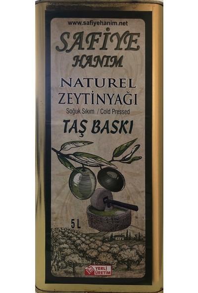 Safiye Hanım Taş Değirmen Zeytinyağı 5 lt Naturel
