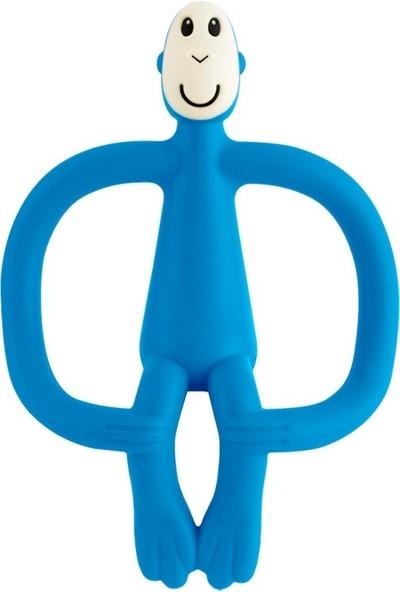 Matchstick Monkey Diş Oyuncağı Mavi Maymun